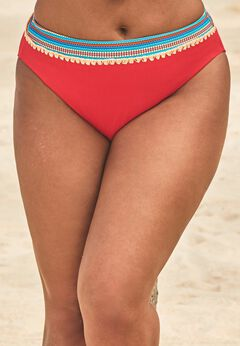 Mentor Ribbed High Waist Bikini Bottom