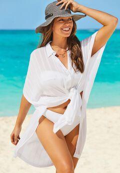 Mila Shirt Dress Cover Up