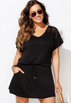 Emmie Crochet Cover Up Tunic