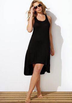Lillian High Low Cover Up Dress available from SwimsuitsForAll, Click for more Details