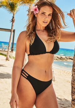 Beach Babe Triangle Bikini Set available from SwimsuitsForAll, Click for more Details
