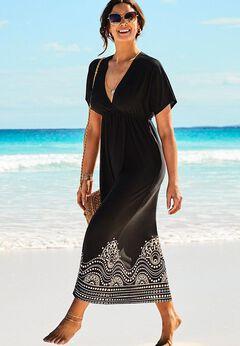 Kate V-Neck Cover Up Maxi Dress