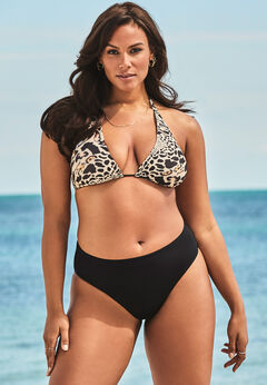 Ashley Graham Fearless High Waist Bikini Set