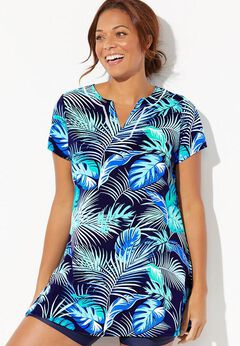 Chlorine Resistant Swim Tunic available from SwimsuitsForAll, Click for more Details