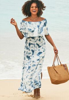 Portia Bandeau Cover Up Maxi Dress