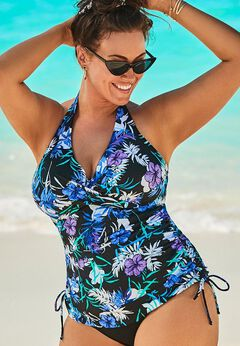 Adjustable Underwire Tankini Top