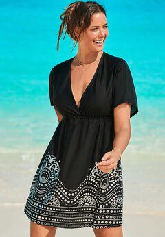 Kate V-Neck Cover Up Dress