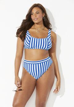 Maestro Ribbed Square Neck Bikini Top