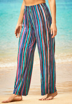 Wide-Leg Cover Up Pant