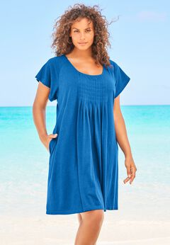 Box-Pleat Cover Up