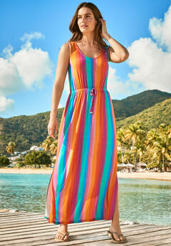 Long Maxi-Length Cover Up