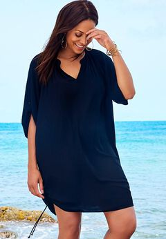 Abigail Cover Up Tunic available from SwimsuitsForAll, Click for more Details