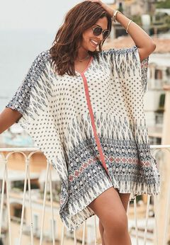 Kelsea Cover Up Tunic available from SwimsuitsForAll, Click for more Details