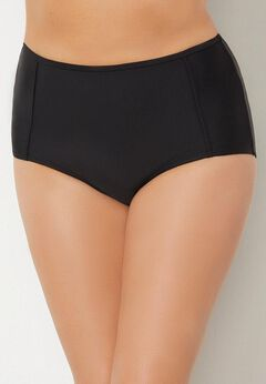 High Waist Piped Swim Brief available from SwimsuitsForAll, Click for more Details