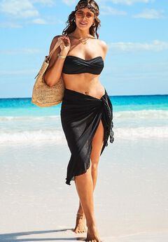 Remi Convertible Cover Up Sarong available from SwimsuitsForAll, Click for more Details