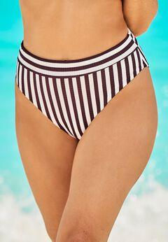 Maestro Ribbed High Waist Bikini Bottom