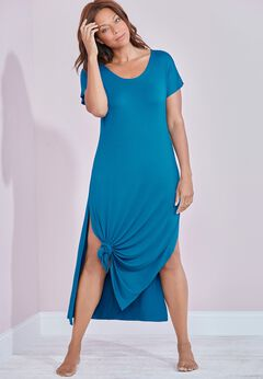 Naya Knotted Maxi Dress