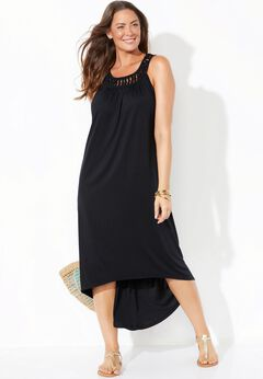 Margarita High Low Cover Up Dress available from SwimsuitsForAll, Click for more Details