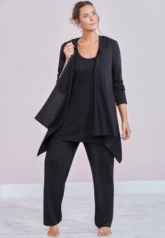 Taylor Long Sleeve Cardigan available from SwimsuitsForAll, Click here to visit their site.