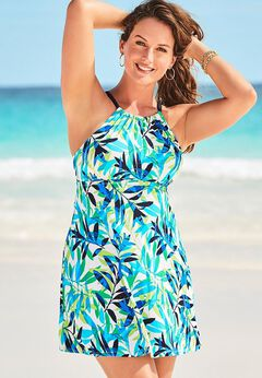 High Neck Swimdress