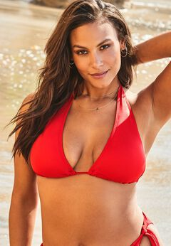 Ashley Graham Elite Triangle Bikini Top