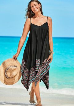 Diane Handkerchief Cover Up Dress