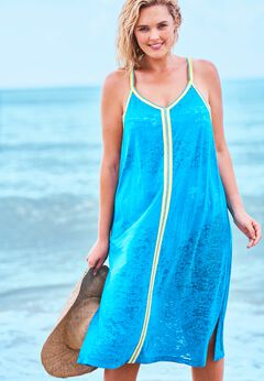 Burnout Cover Up Dress available from SwimsuitsForAll, Click for more Details