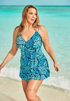Two-Piece Swim Dress