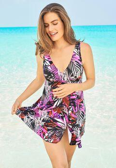 Surplice Swim Dress