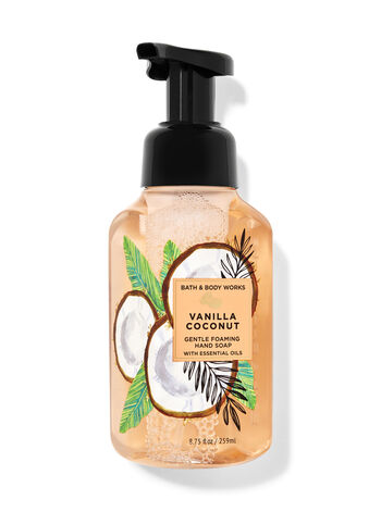 Vanilla Coconut   Gentle Foaming Hand Soap