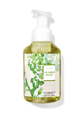 White Barn   Cucumber & Lily   Gentle Foaming Hand Soap