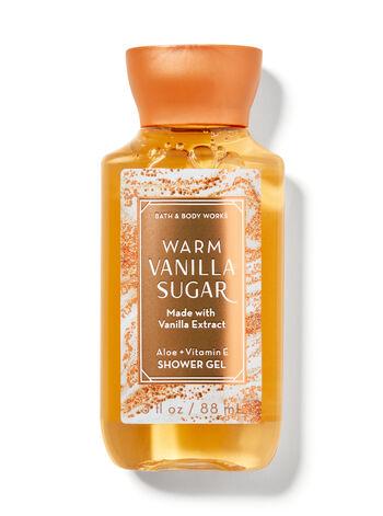 Warm Vanilla Sugar Travel Size Shower Gel