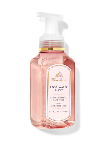 White Barn   Rose Water & Ivy   Gentle Foaming Hand Soap