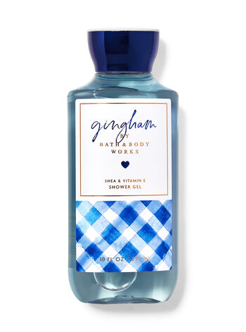 Signature Collection   Gingham   Shower Gel