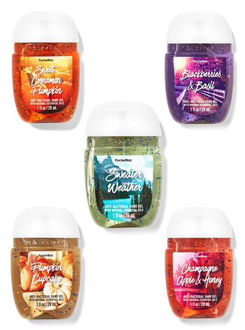 PocketBac Hand Sanitizers! .00 or .00 for 5 Pack TODAY ONLY at Bath and Body Works!