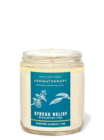Aromatherapy   Eucalyptus Tea   Single Wick Candle