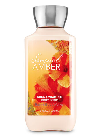 Signature Collection   Sensual Amber   Body Lotion