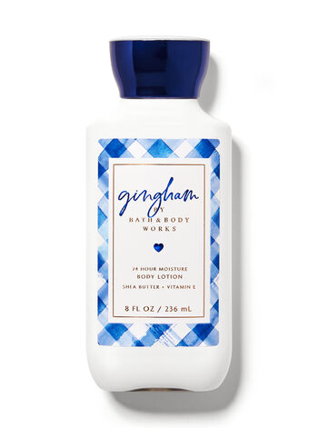 Signature Collection   Gingham   Super Smooth Body Lotion