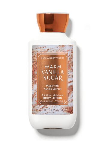 Warm Vanilla Sugar   Super Smooth Body Lotion