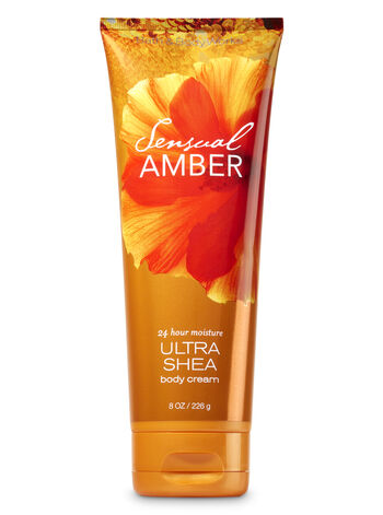 Signature Collection   Sensual Amber   Ultra Shea Body Cream