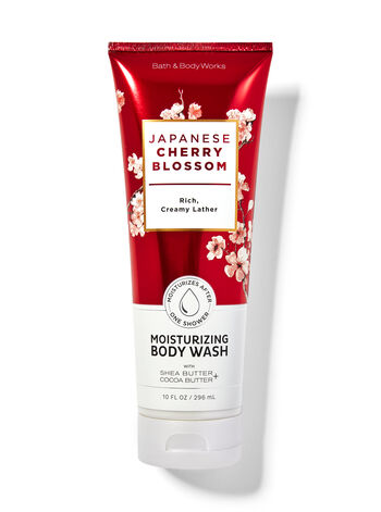 Japanese Cherry Blossom   Moisturizing Body Wash
