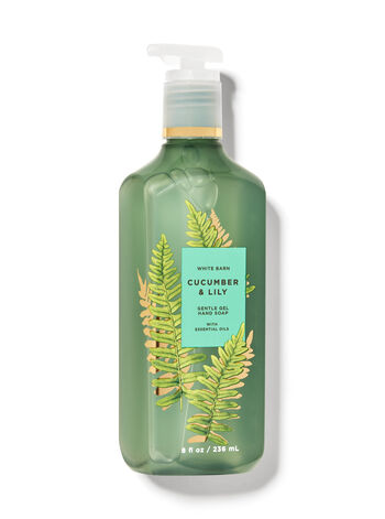 White Barn   Cucumber & Lily   Gentle Gel Hand Soap