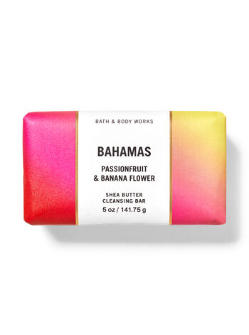 Bahamas Passionfruit & Banana Flower   Shea Butter Cleansing Bar