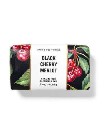 Black Cherry Merlot   Shea Butter Cleansing Bar