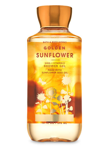 Golden Sunflower   Shower Gel